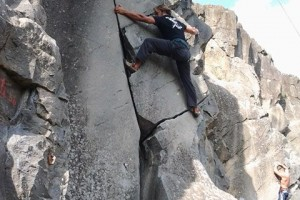 Allenamento arrampicata